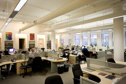 Real Estate Arts NYC Offices at 641 AOA