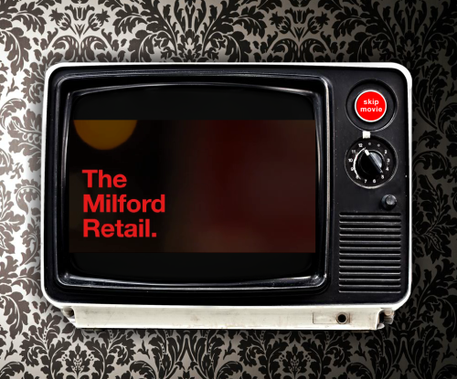 Real Estate Arts produces website and Video for The Milford Retail