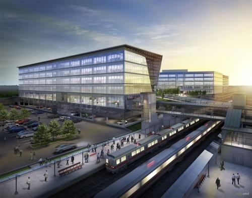 Real Estate Arts chosen to market Fairfield Metro Center with Wittek