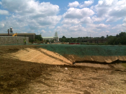 Michael Goodgold tours Fairfield Metro Center Construction