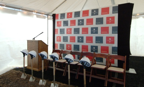 Real Estate Arts unveils branding at ground breaking for JBG's Sedona and Slate Condos