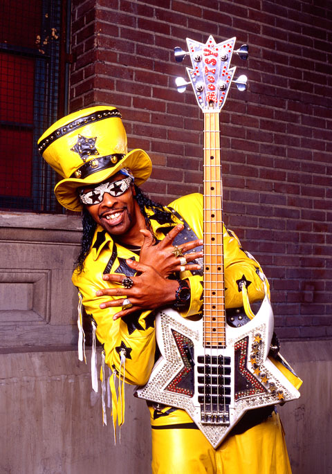 how tall is bootsy collins