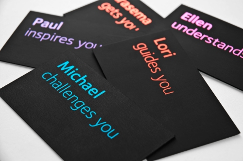 Real Estate Arts reveals it's brand personality with new business cards