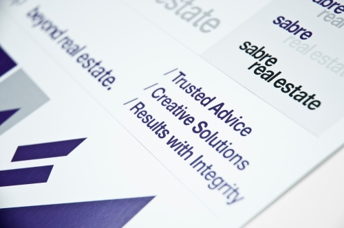 Sabre Real Estate Brand Identity by Real Estate Arts