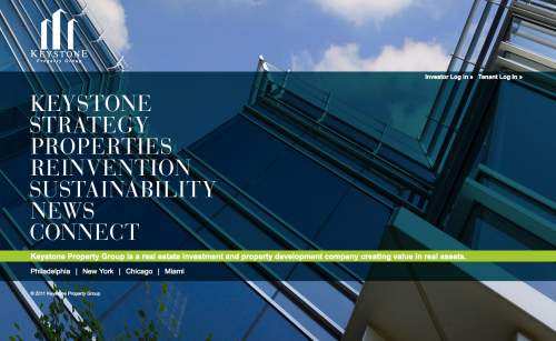 Keystone Property Group's website by REA
