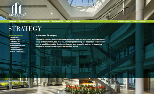 Keystone Property Group's Strategy Section by eal Estate Arts
