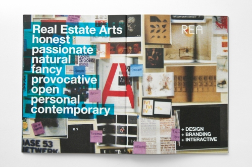Real Estate Arts' new brand brochure