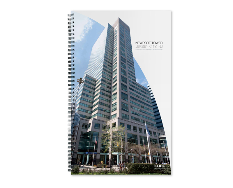 Newport Office Tower Offering Memorandum cover by Real Estate Arts