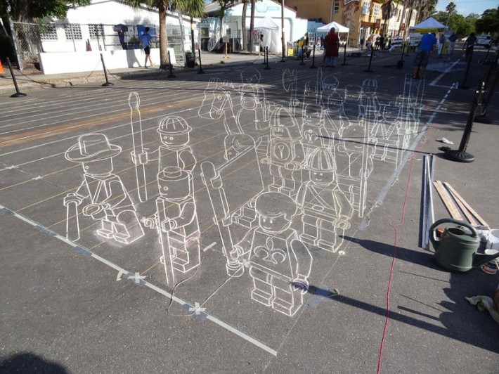 3D sidewalk chalk art | REAL ESTATE ARTS